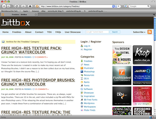 Screenshot Bitbox