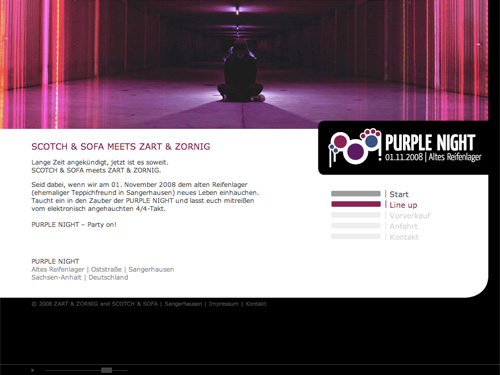 Purplenight-Website
