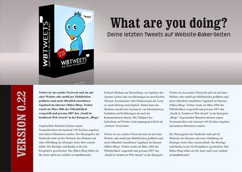 WB Tweets Grafik Inkskape