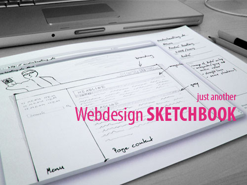 Webdesign Sketchbook
