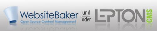 WebsiteBaker und Lepton