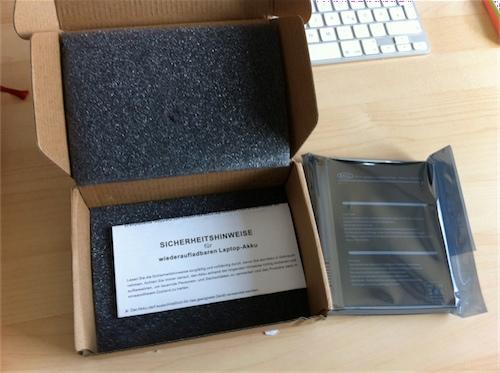 Die Lieferung erfolgt in einer angemessenen Verpackung.
