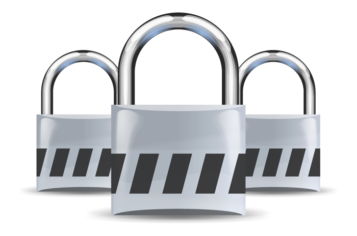 Symbolbild VPN (Quelle: openclipart.org, Padlock icon created by AJ and re-colored by user AzaToth on Wikimedia, Puplic Domain License)