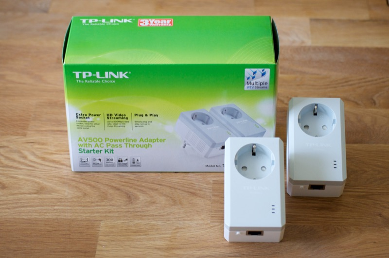 TP-Link AV500 Powerline Adapter