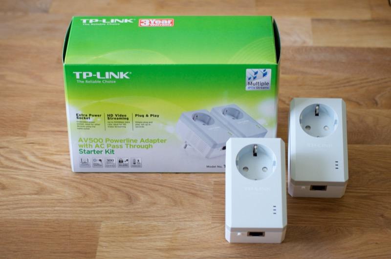TP-Link AV500 Powerline Adapter