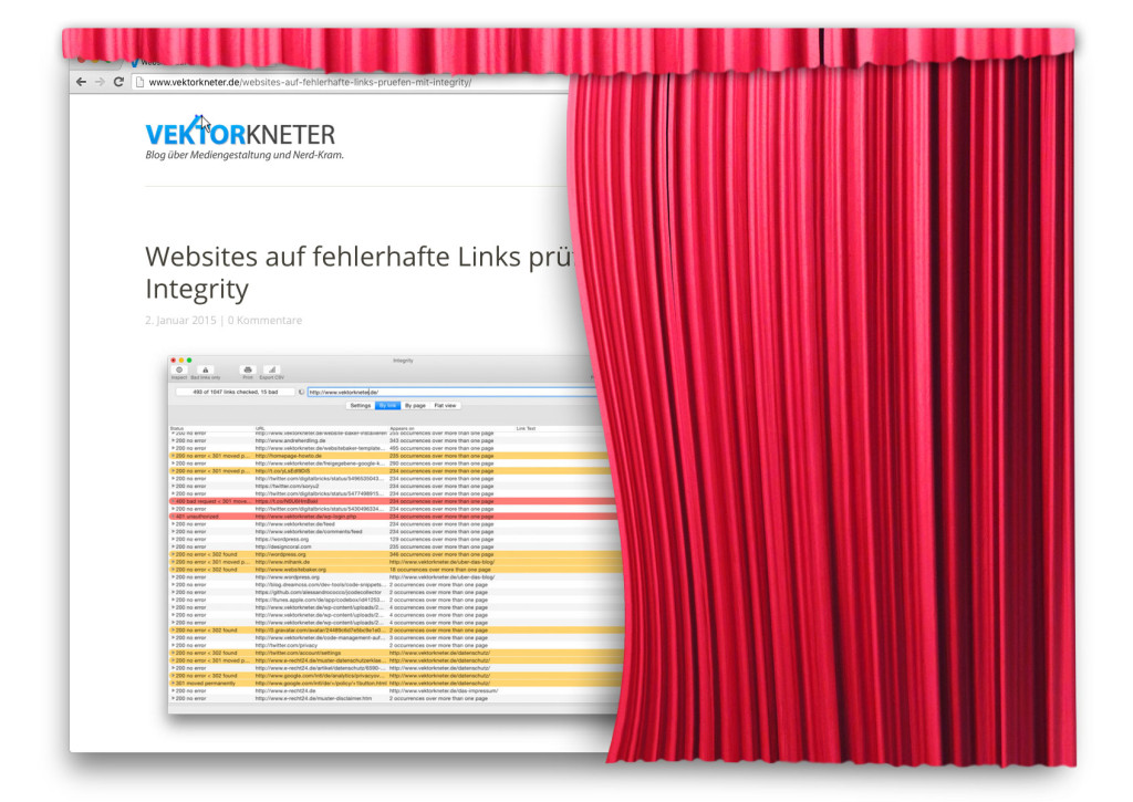 Neues Theme für vektorkneter.de